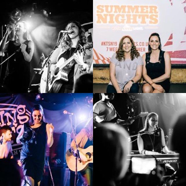 Had an absolute blast playing @kingtutsofficial Summer Nights festival! Amazing to play such a prestigious venue! Thanks to @kriskesiak for the in action shots! #ktsn19 #kingtutswahwahhut #livemusic #glasgow #theeves #femaleduo #popmusic