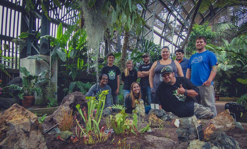 The SDCPS collaborated with the San Diego Parks Department to completely restore the Balboa Park Botanical Building's carnivorous plant bog. All plants were donated from SDCPS & LACPS personal collections, Ed Read from the CSUF Greenhouse, The San Diego Zoo Horticulture Department, and Booman Floral. We're excited to share this new display with the public!
