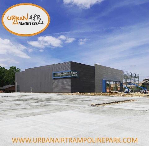 Urban Air in Denham Springs it taking shape! We can't wait for all the adventure this project will bring to Denham Springs!