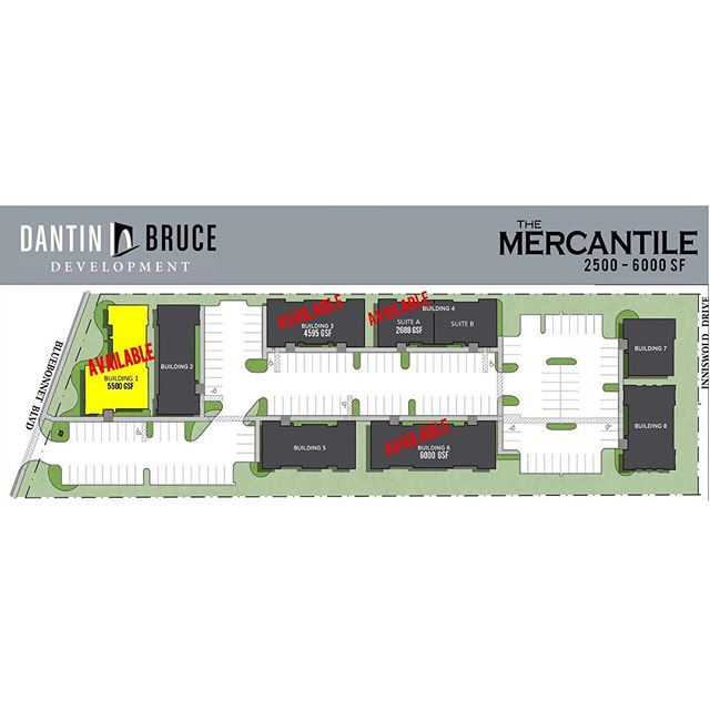 Bluebonnet's newest office park, The Mercantile, has just ONE more pad site available for sale! Contact us today for more information at (225) 302-5488.