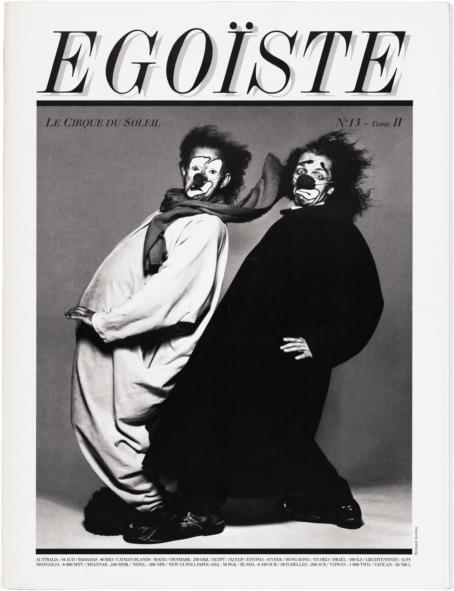 Egoïste No.13 , 1997