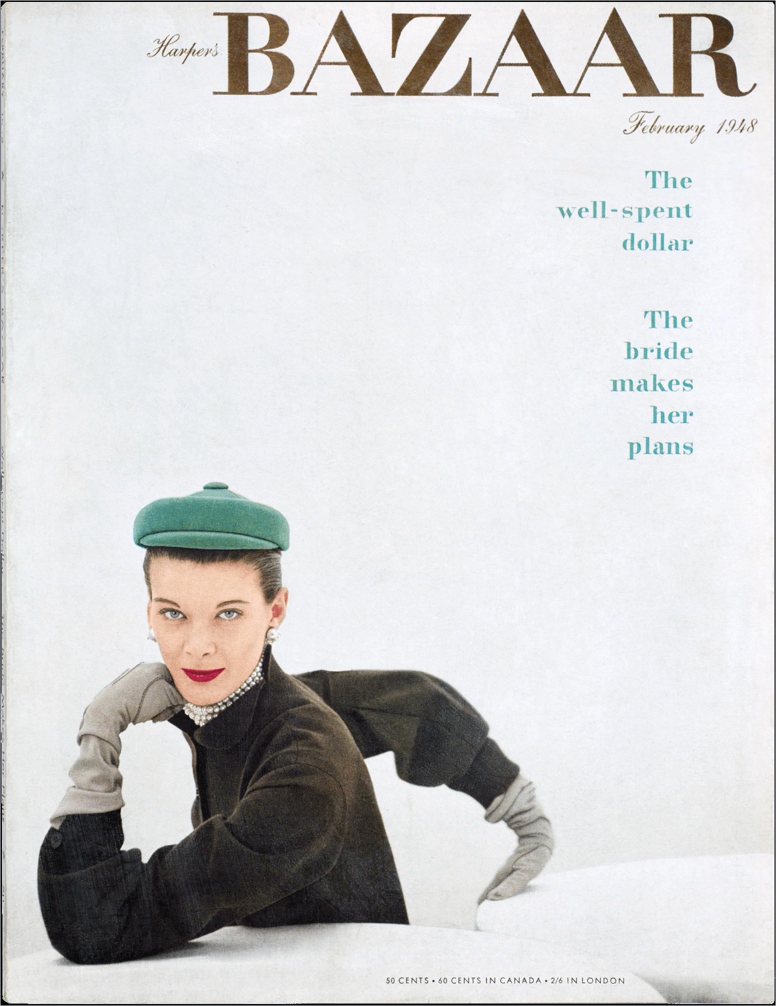 Harper's Bazaar , February 1948