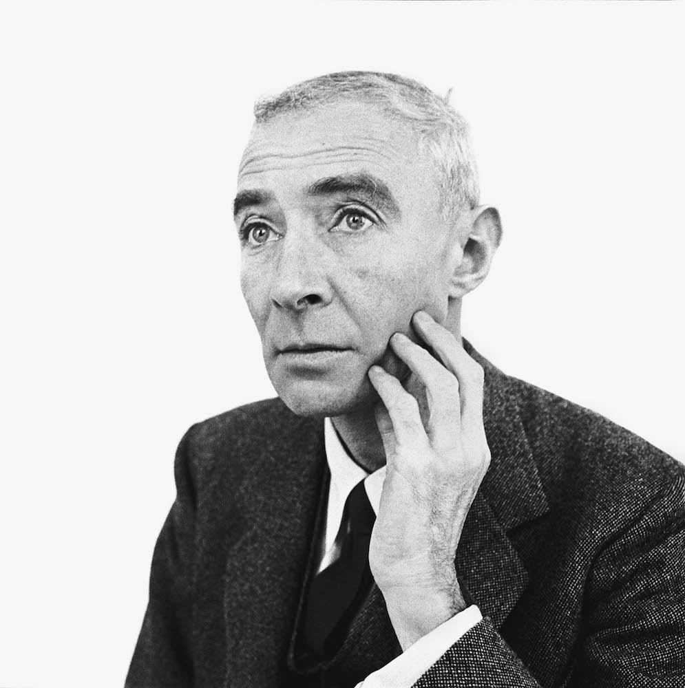 Dr. J. Robert Oppenheimer, physicist, Princeton, New Jersey, December 11, 1958