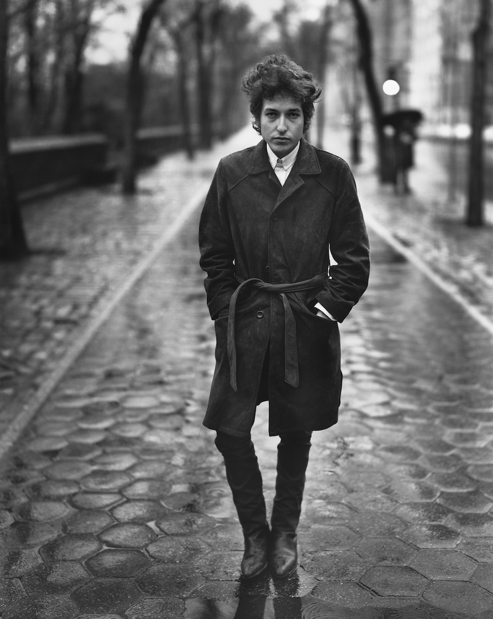 Bob Dylan, singer, New York City, February 10, 1965