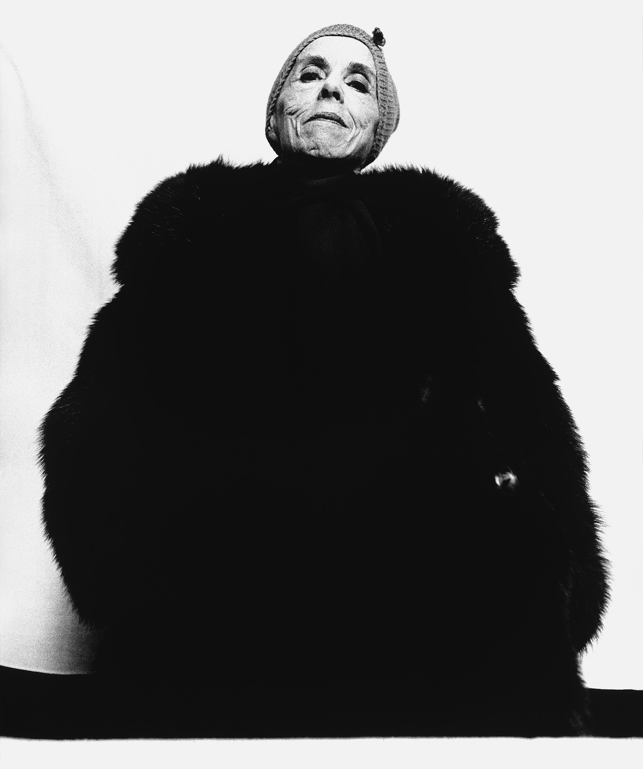 Isak Dinesen, writer, Copenhagen, Denmark, April 9, 1958