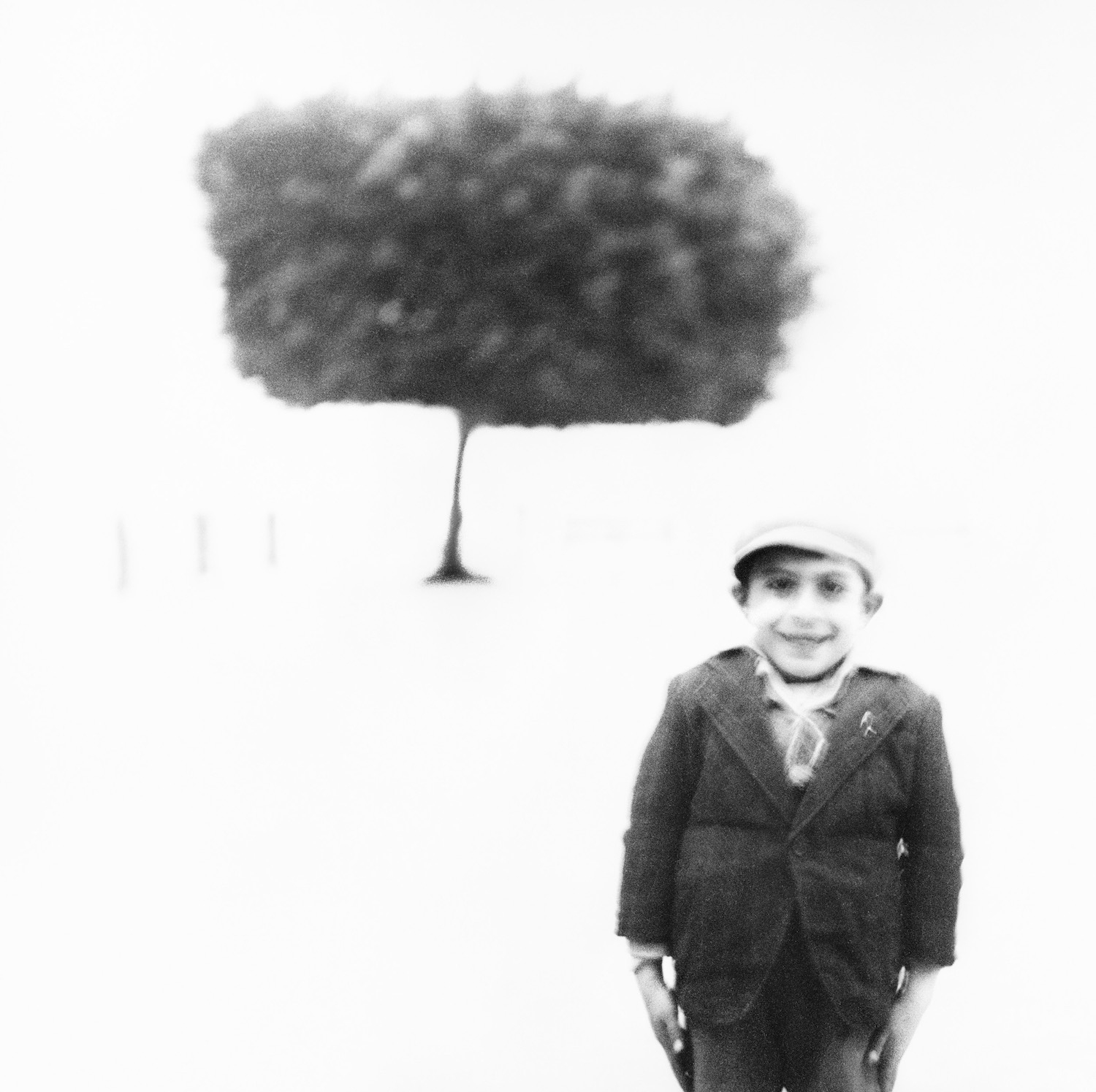 Italy #9 (Boy and Tree), Noto, Sicily, September 5, 1947