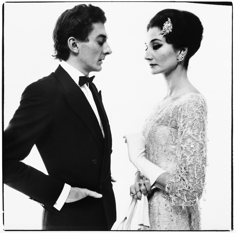 The Vicomtesse Jacqueline de Ribes with Raymundo de Larrain, New York, May 15, 1961