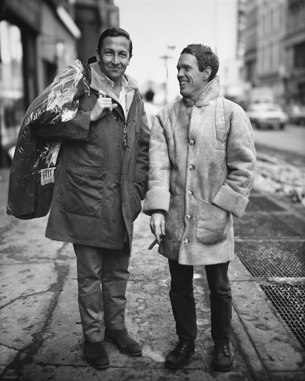 Robert Rauschenberg and Alex Hay, artists, New York, January 19, 1965