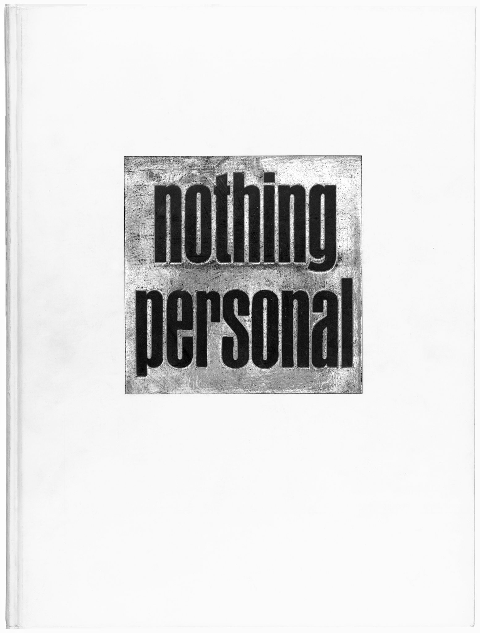 Nothing Personal  (1964), essay by James Baldwin