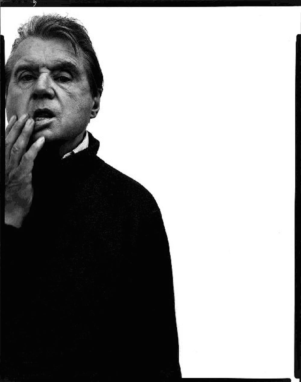 Francis Bacon, artist, Paris, April 11, 1979