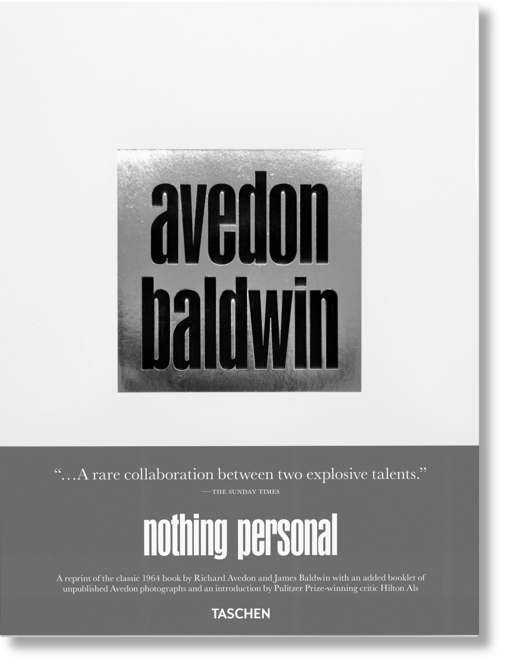 Nothing Personal  (2017), essay by James Baldwin and new introduction by Hilton Als