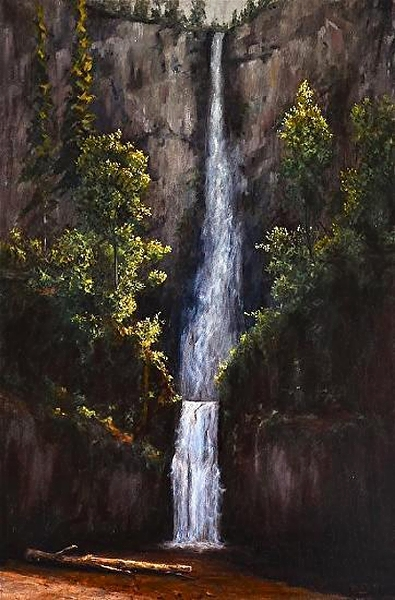 """Multnohma Falls - Oregon"""