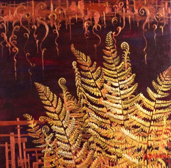 """Metallic Ferns"""