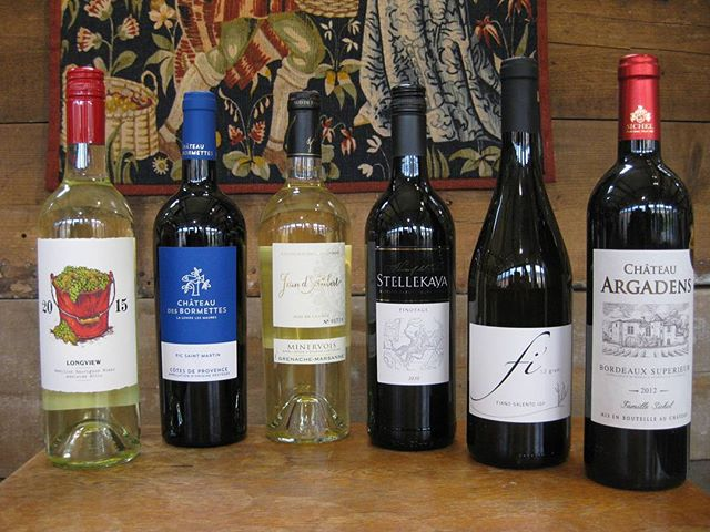 Special May Offer, save over £20 6 great wines for £59.99 including free delivery. 01284 755948