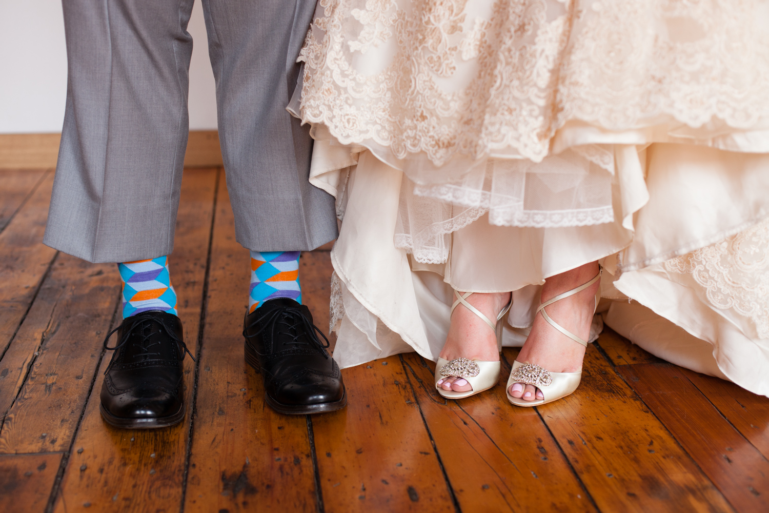 detail brides shoes mill 1 at open square wedding jp langlands photography