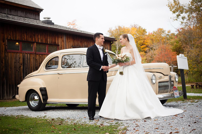 bride and groom portrait jacob's pillow wedding jp langlands photography