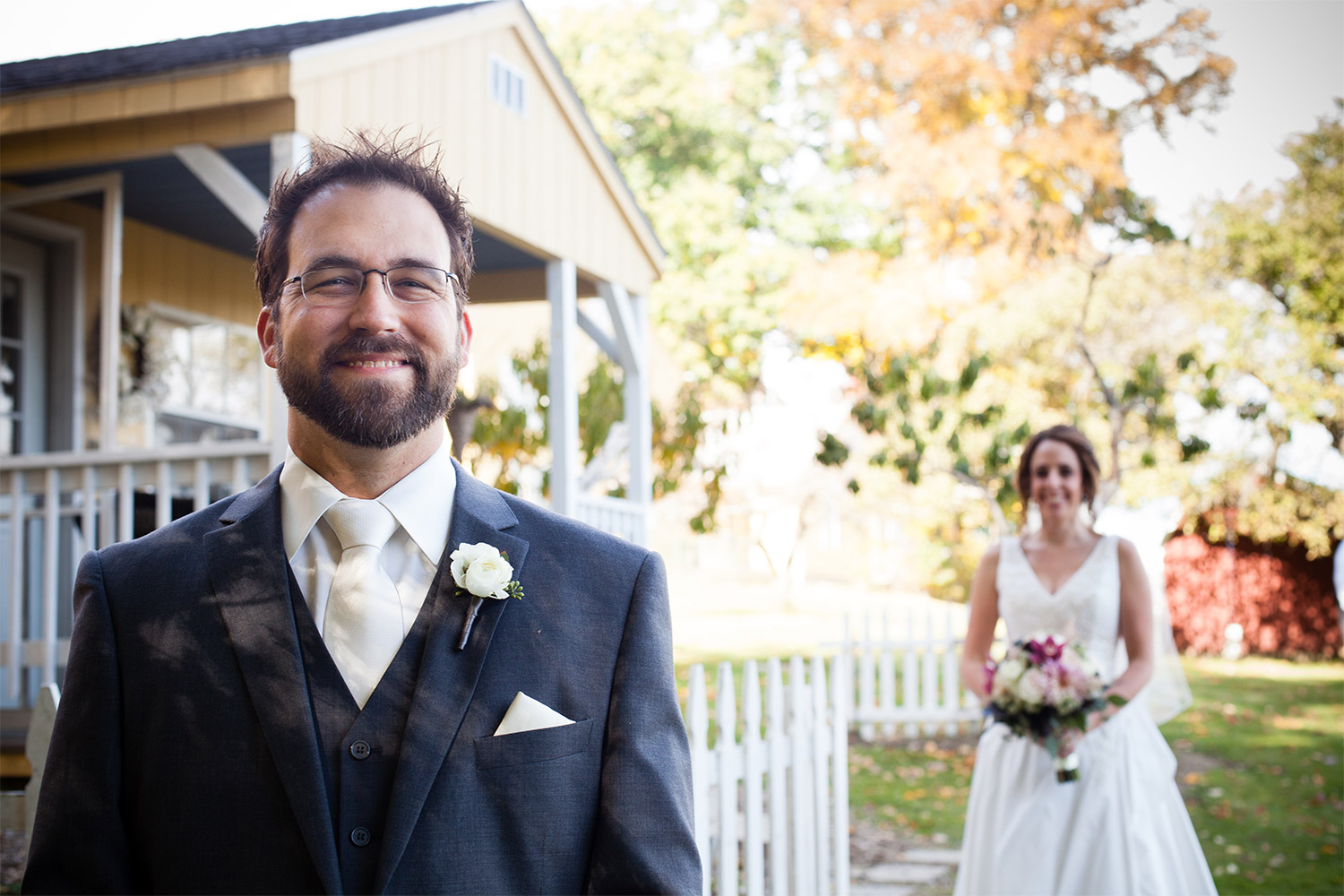 first look at monadnock berries wedding site