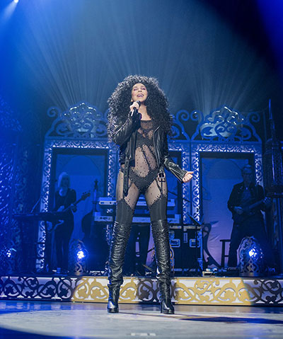 Classic Cher. Photo by Andrew Macpherson