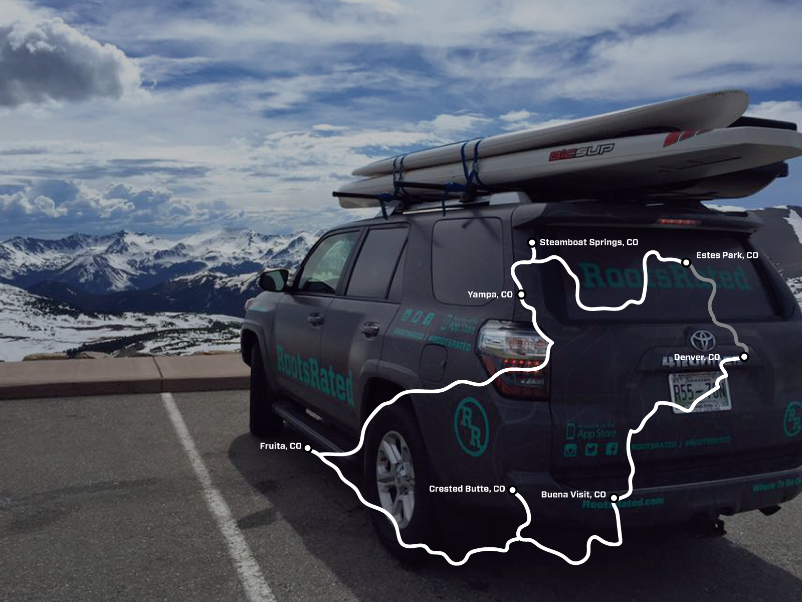Day 6: 139 miles from Steamboat Springs to Estes Park  Jake Wheeler