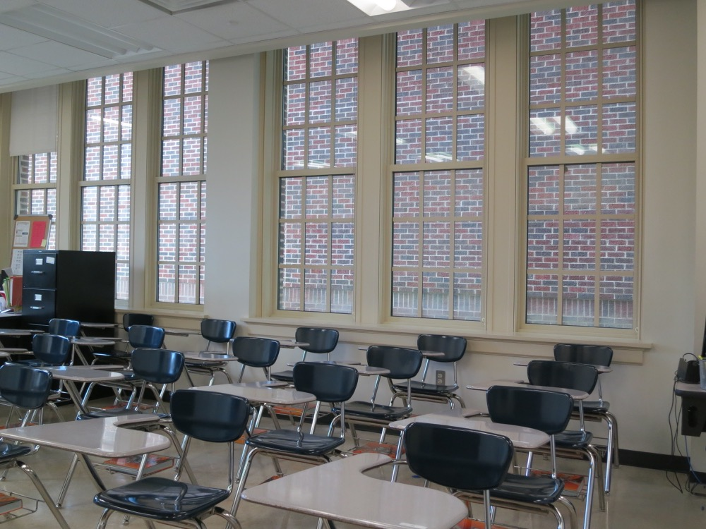 Baton Rouge High- Classroom 3