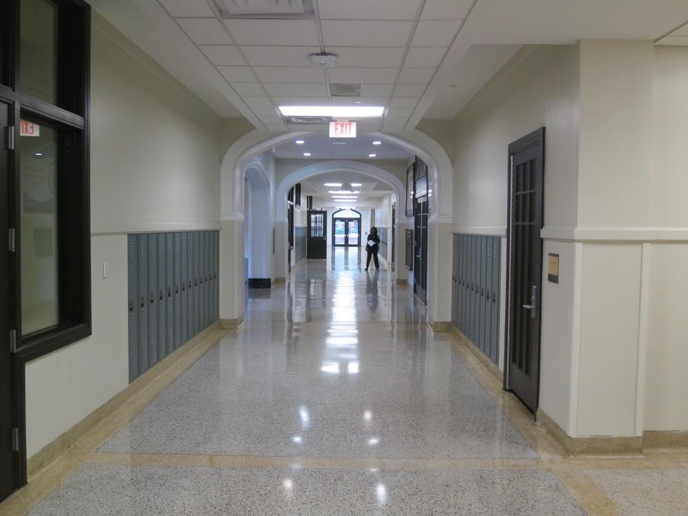 Baton Rouge High- Hallway