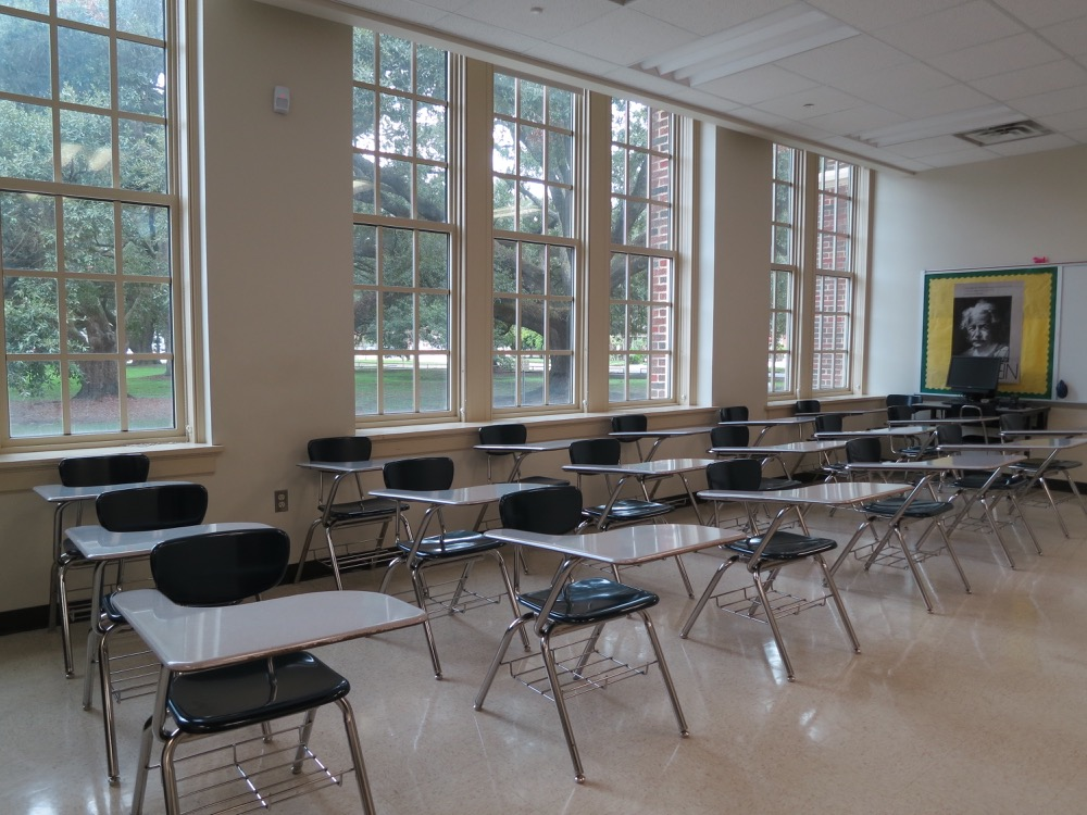 Baton Rouge High- Classroom 4