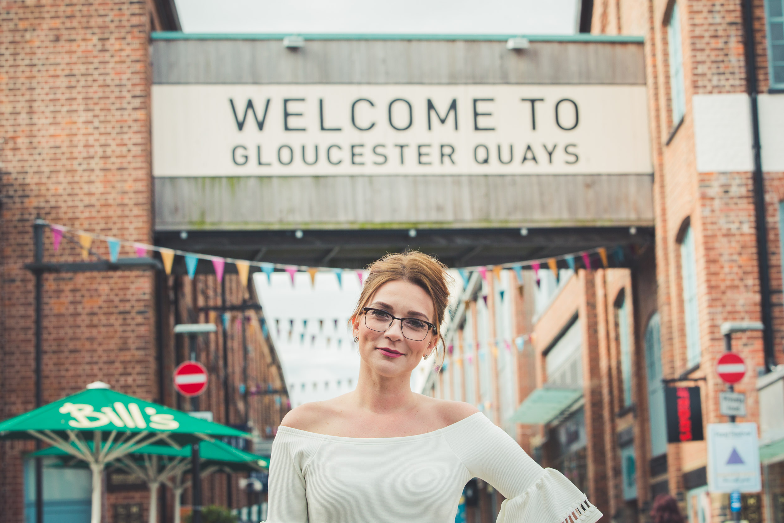 Candice Brown headlined the line up of celebrity chefs at Gloucester Quays Food Festival 2017 from July 28-30.