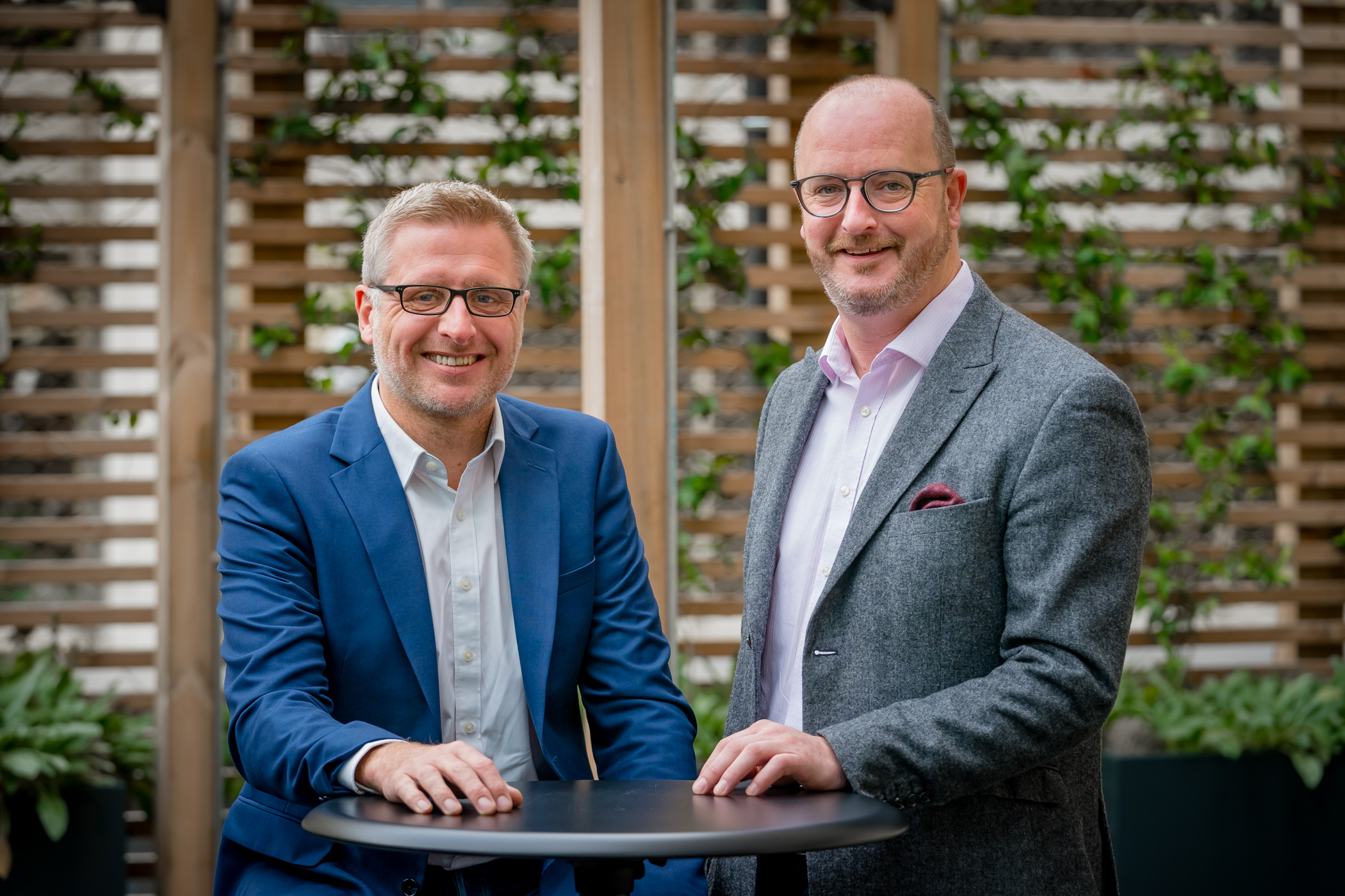 Jonathan England, Development Director and Phil Wilson, Chief Executive.