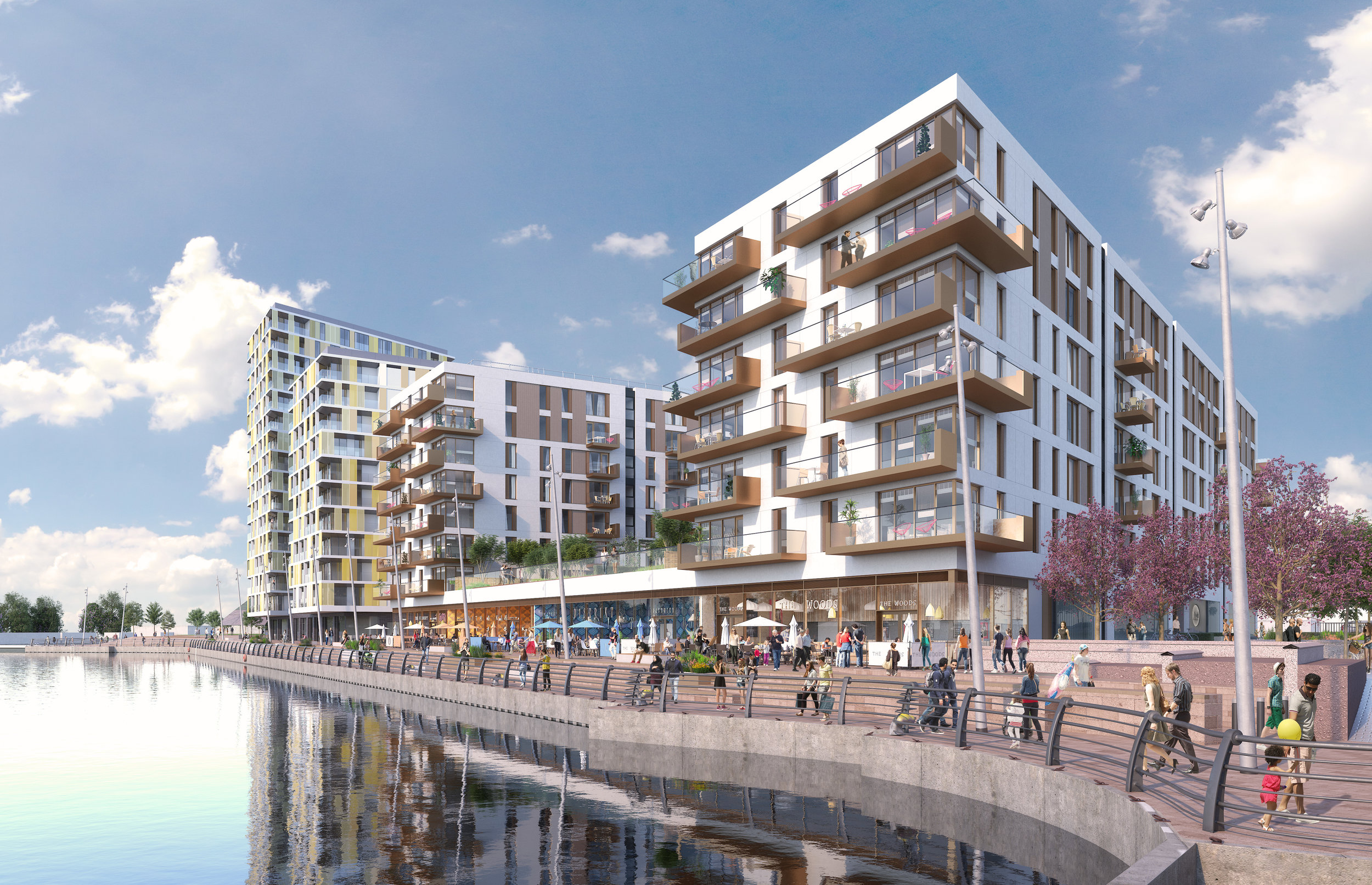 Illustrative image of 193 high quality apartments to be delivered at Chatham Waters