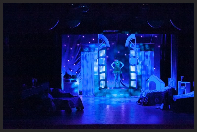scenic design and painting - Peter Pan - The Community House