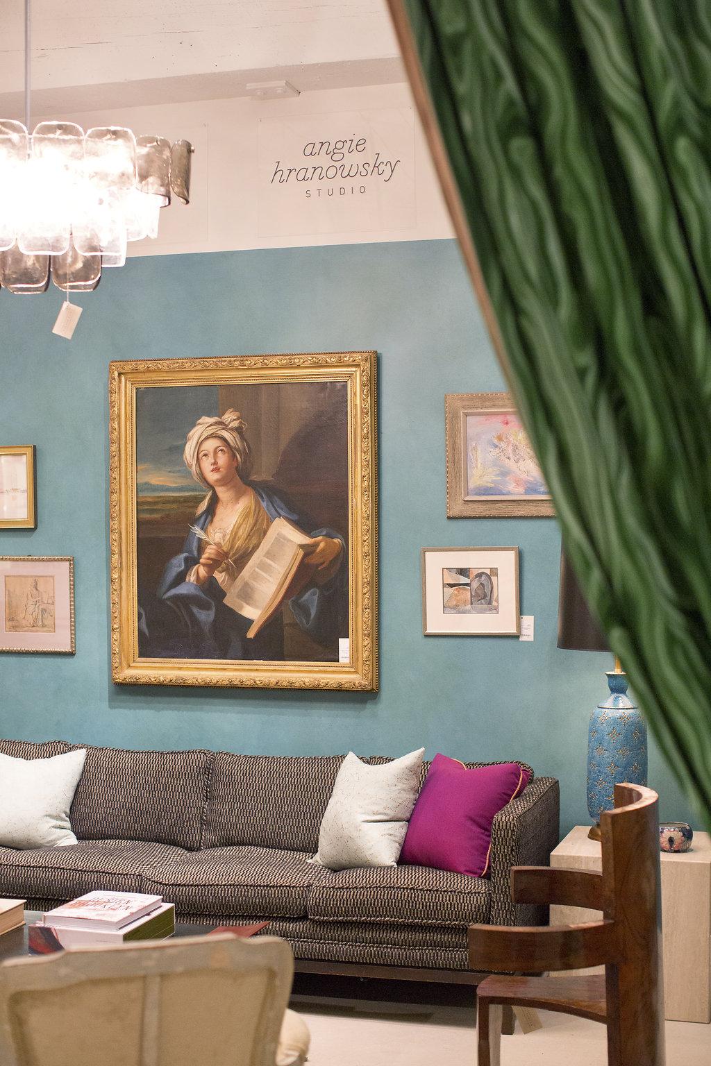 Angie Hranowsky's bright modern Atelier