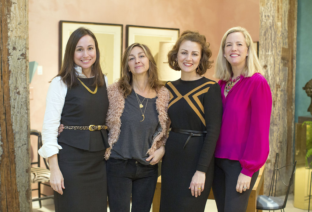 Carlye Jane Dougherty, Angie Hranowsky, Courtney Loadholt and Sarah Hamlin Hastings