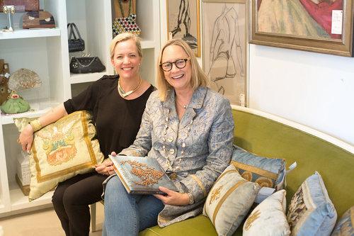 Sarah-Hamlin and Becky Vizard of B. Viz Design