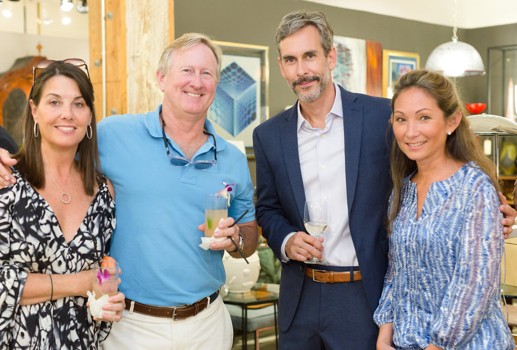 """Guests at the launch party for Julia B Linens and Amelia Handegan's new book """"Rooms"""""""