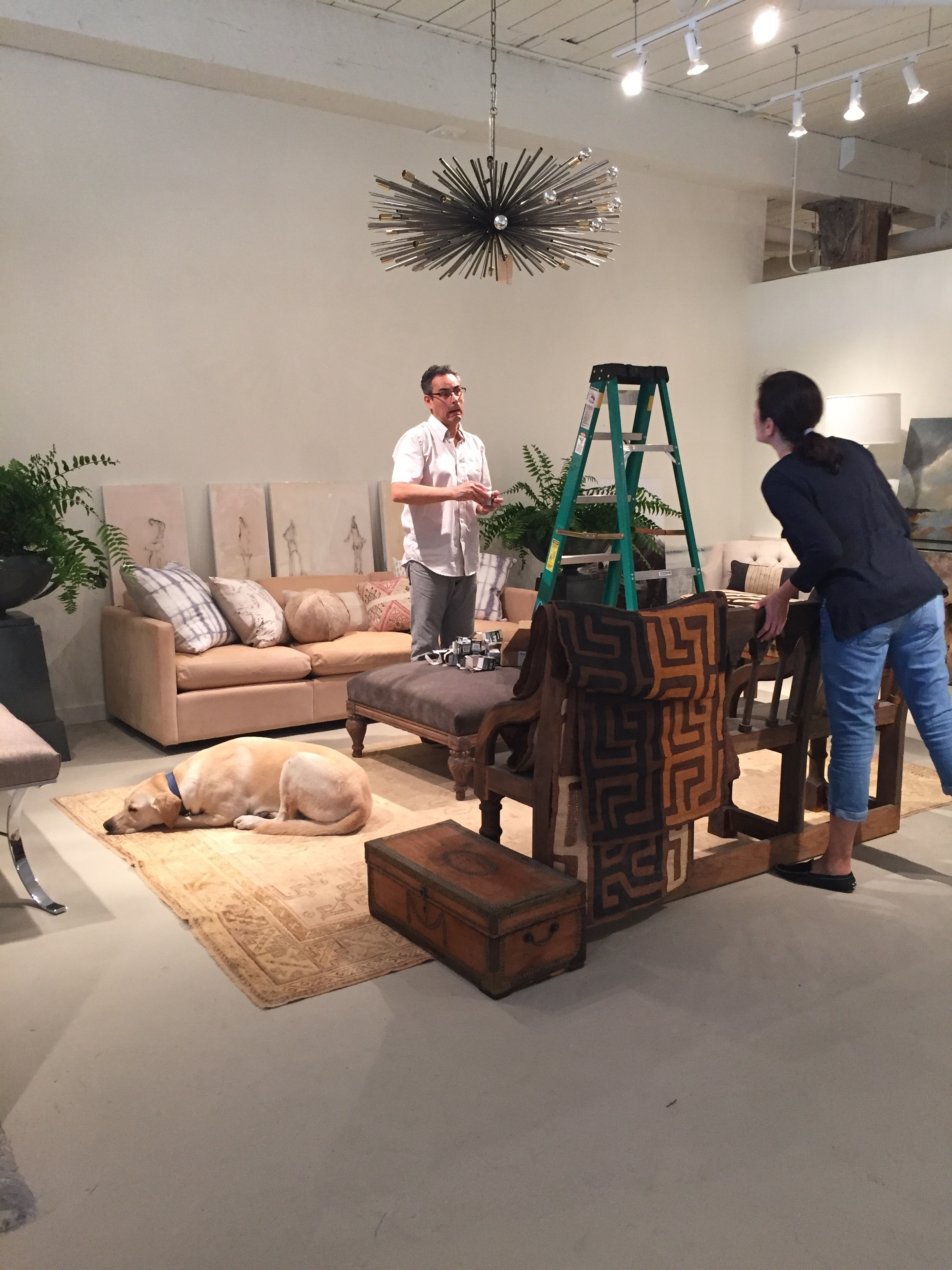 Installing the first Atelier...