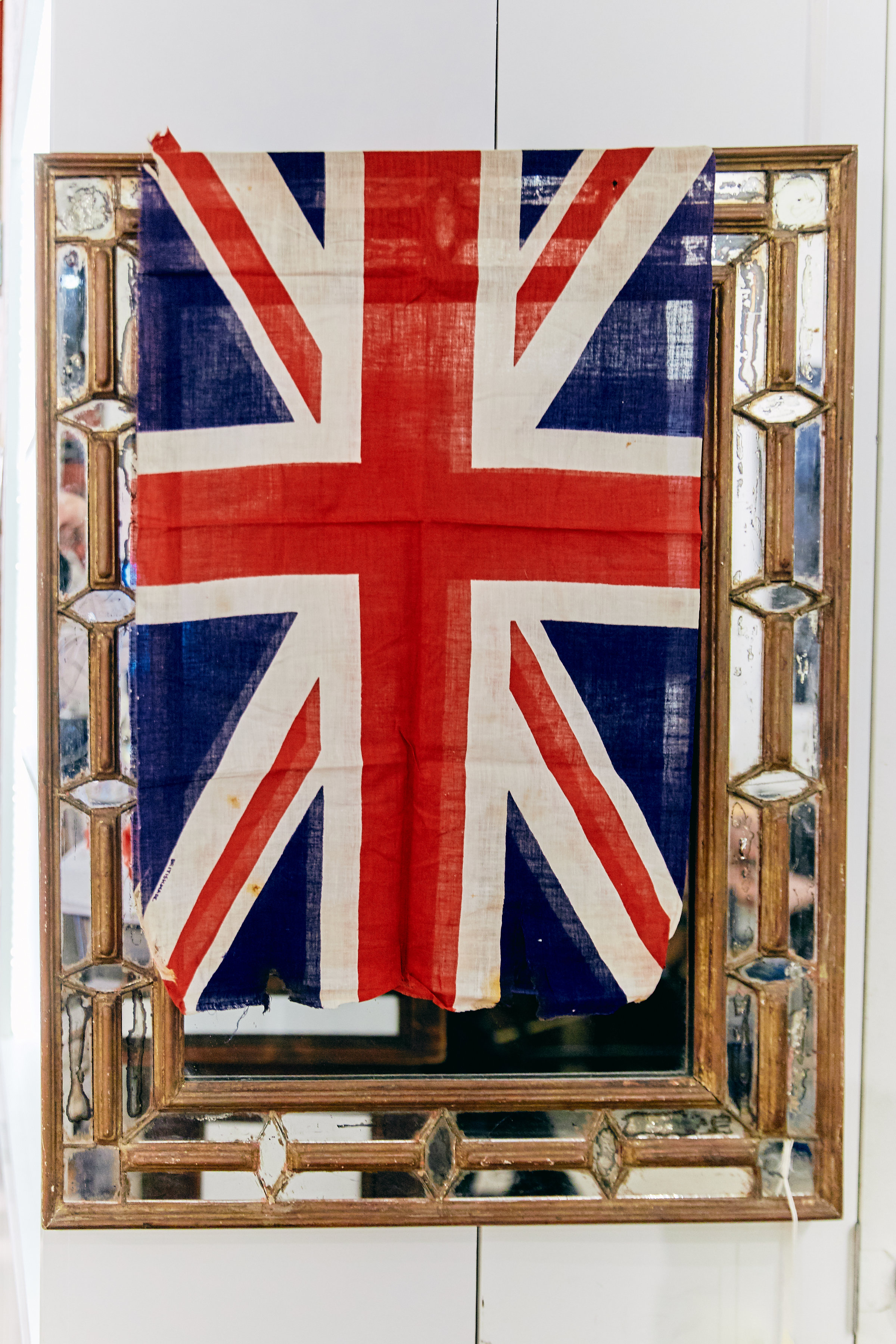 Oh what a night! The tattered Union Jack lives to tell the tale....
