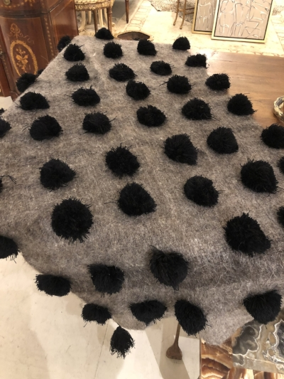 Mexican Pom Pom Throw | $325