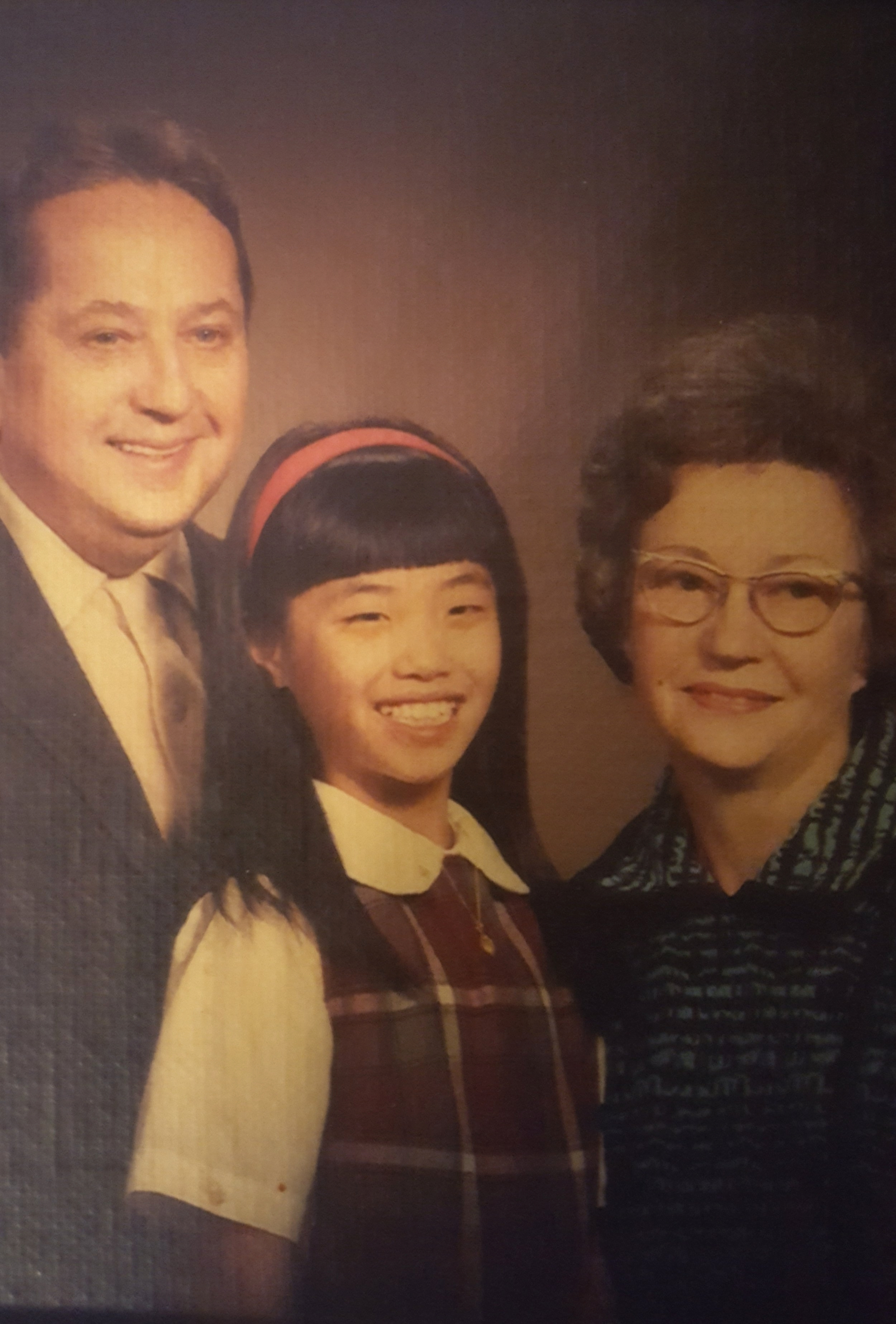 Judi with Mom and Dad