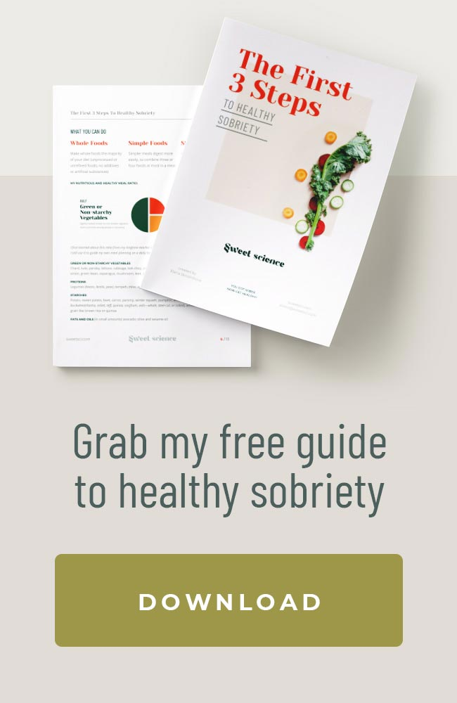 Sweet Science Free Guide to Healthy Sobriety Download