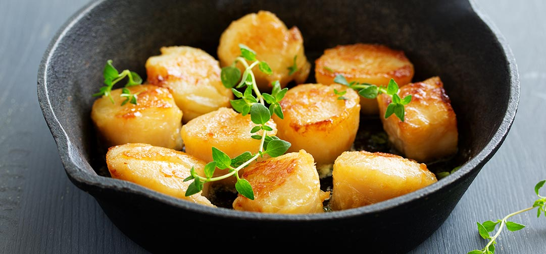 The Best Seared Scallops Recipe! Perfect easy Instructions to get that famous caramel crust - Sweet Science Nutrition & Wellness, Healthy Sobriety with health coach Elena Skroznikova