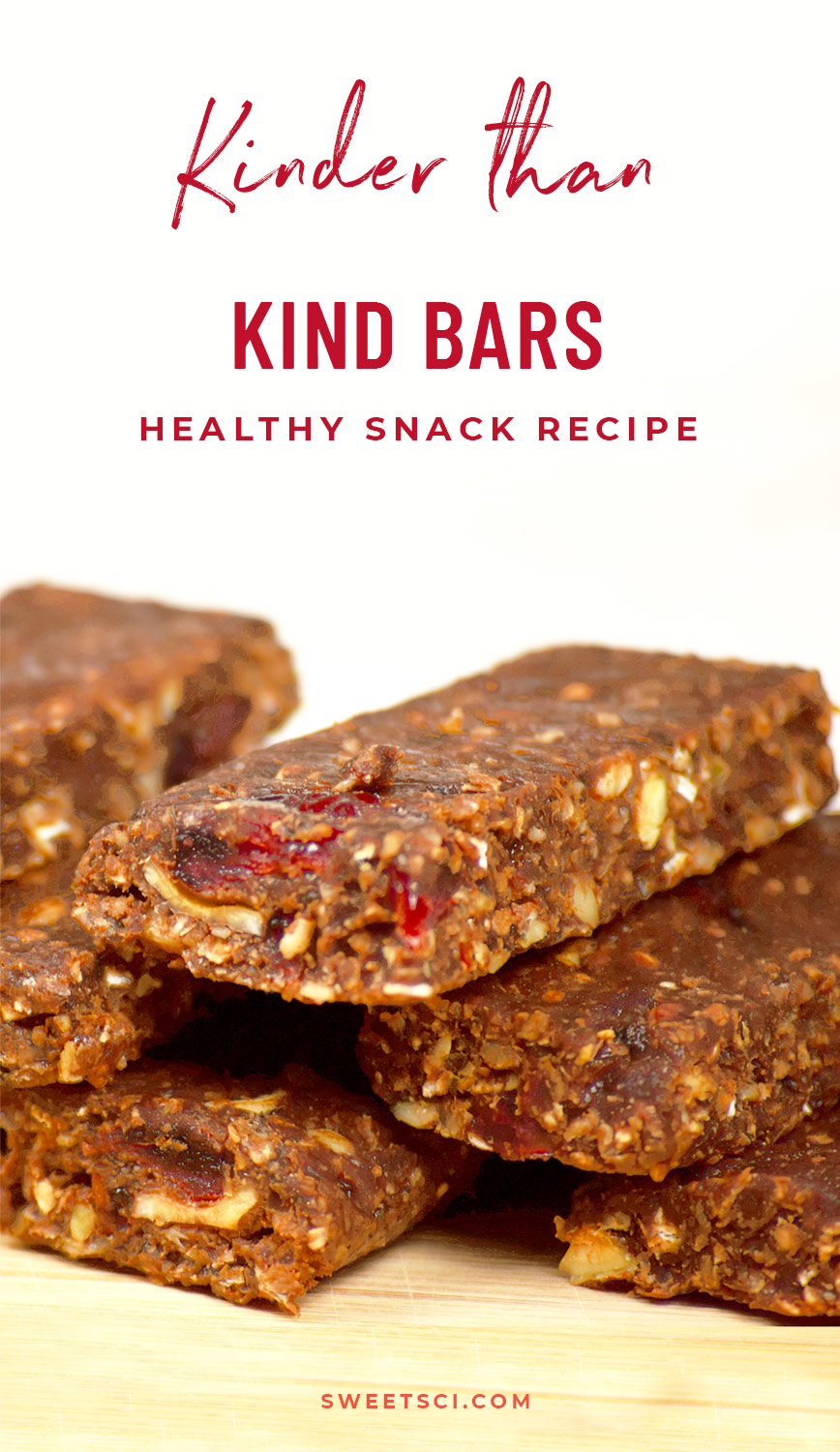 Kinder Than Kind Bars Recipe: Energy Bar, Power Bar, Travel Snack, On-th-go, Healthy Snack, Nut Bar, Natural, Vegan, Gluten Free, How to make, Step by Step guide, What to eat in Recovery, Best Power Bar - Sweet Science Nutrition & Wellness, Healthy Sobriety with health coach and Nutritionist Elena Skroznikova