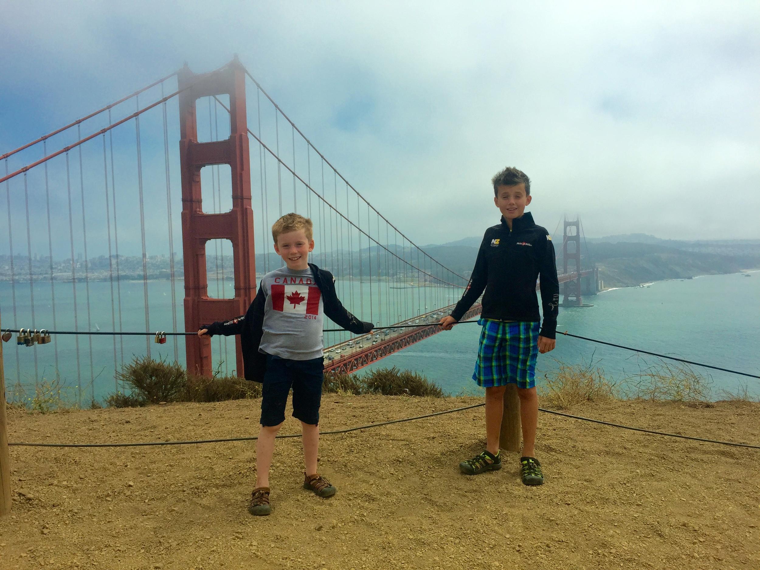Great Golden Gate!
