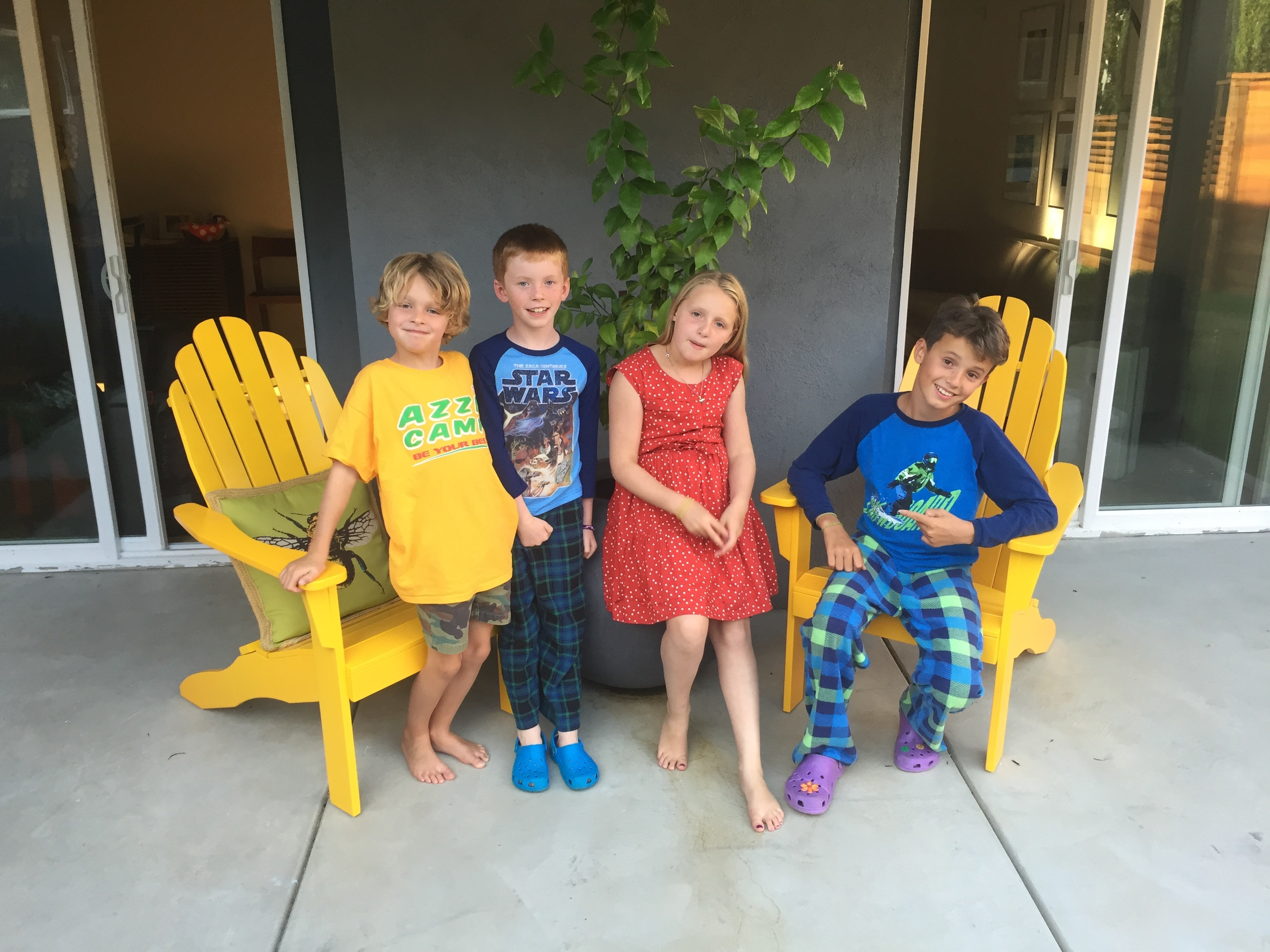 Spencer, Max, Jacqui and Sully