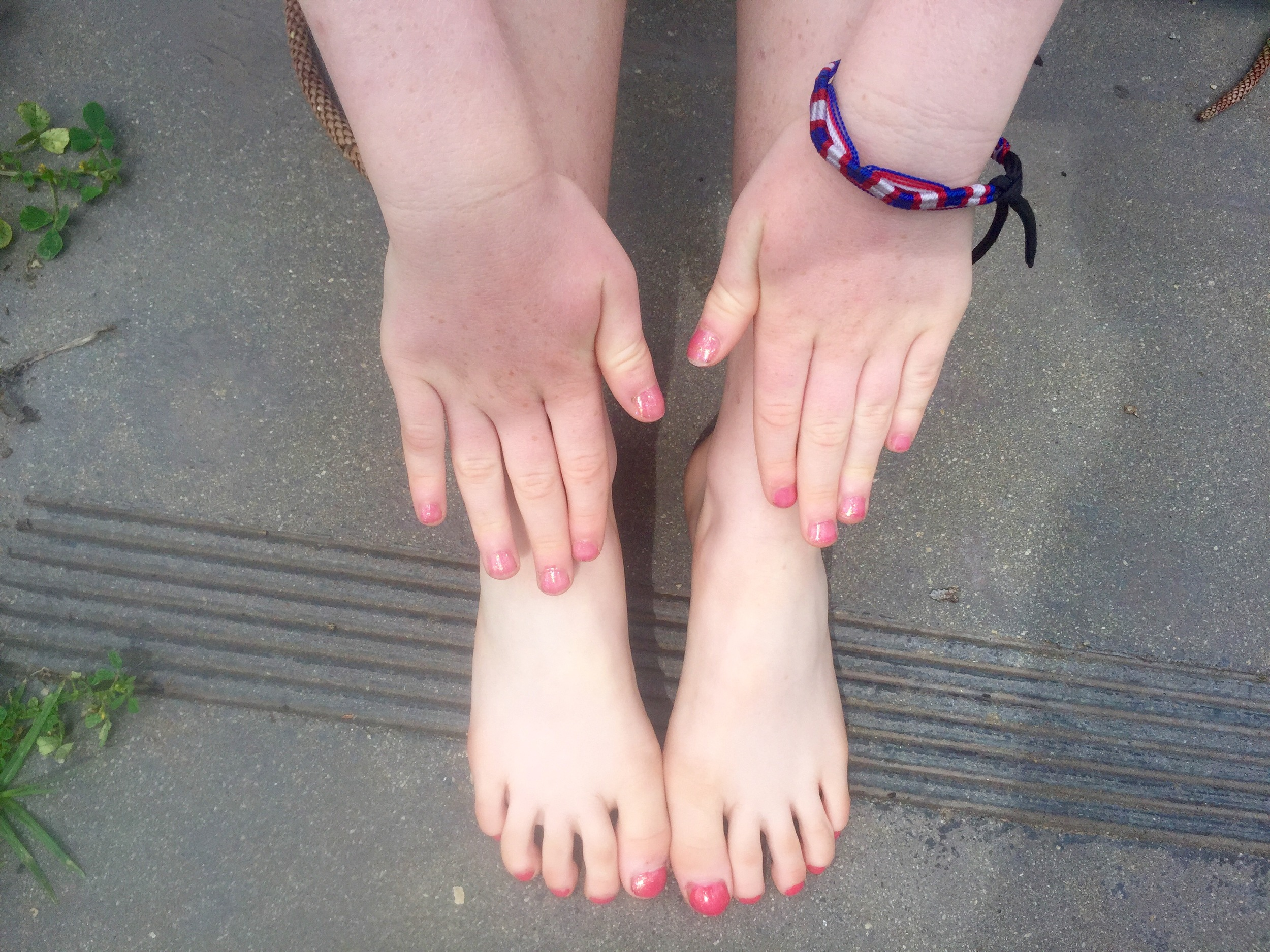 New fingers and toes!!