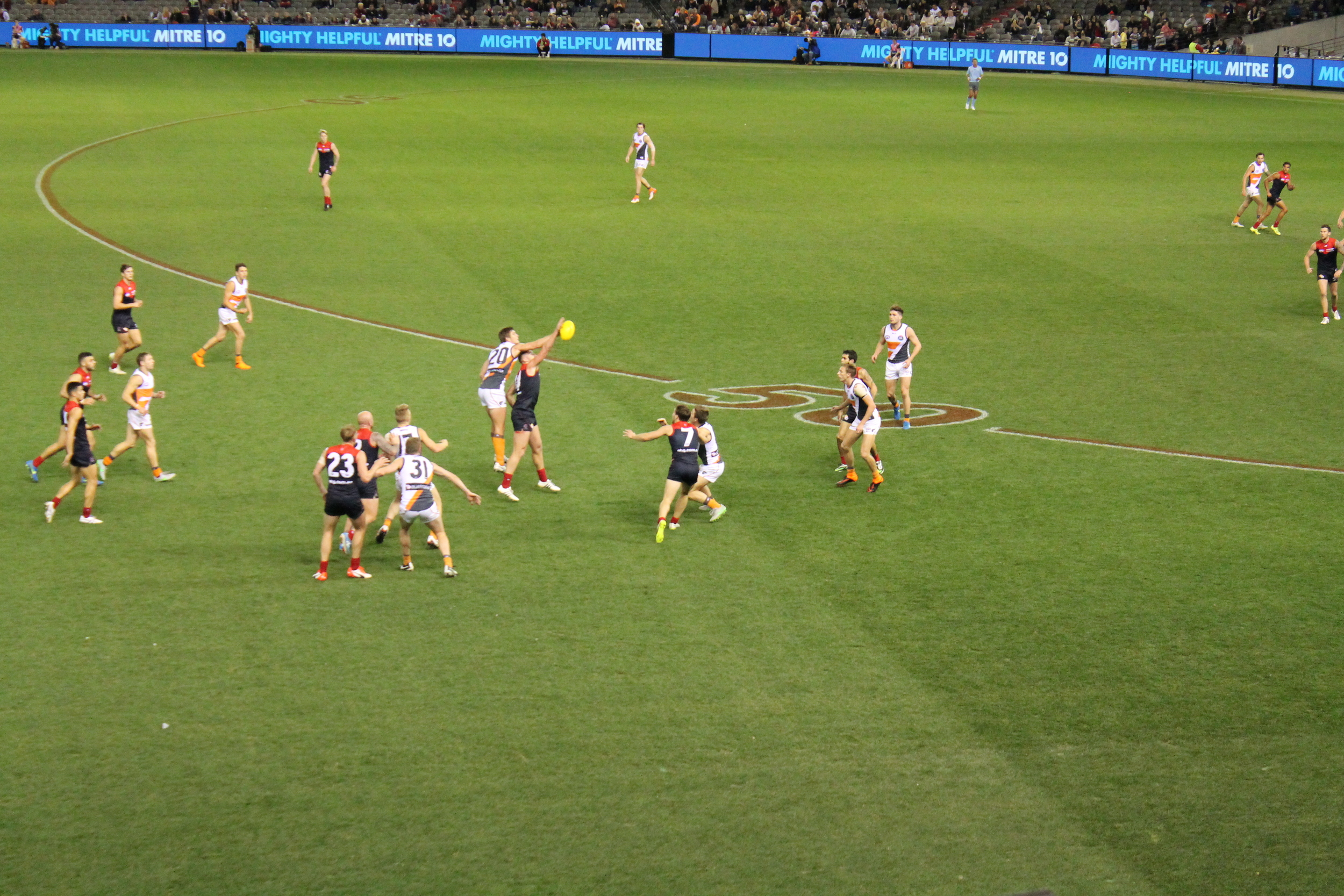 Aussie Rules Football in Melbourne