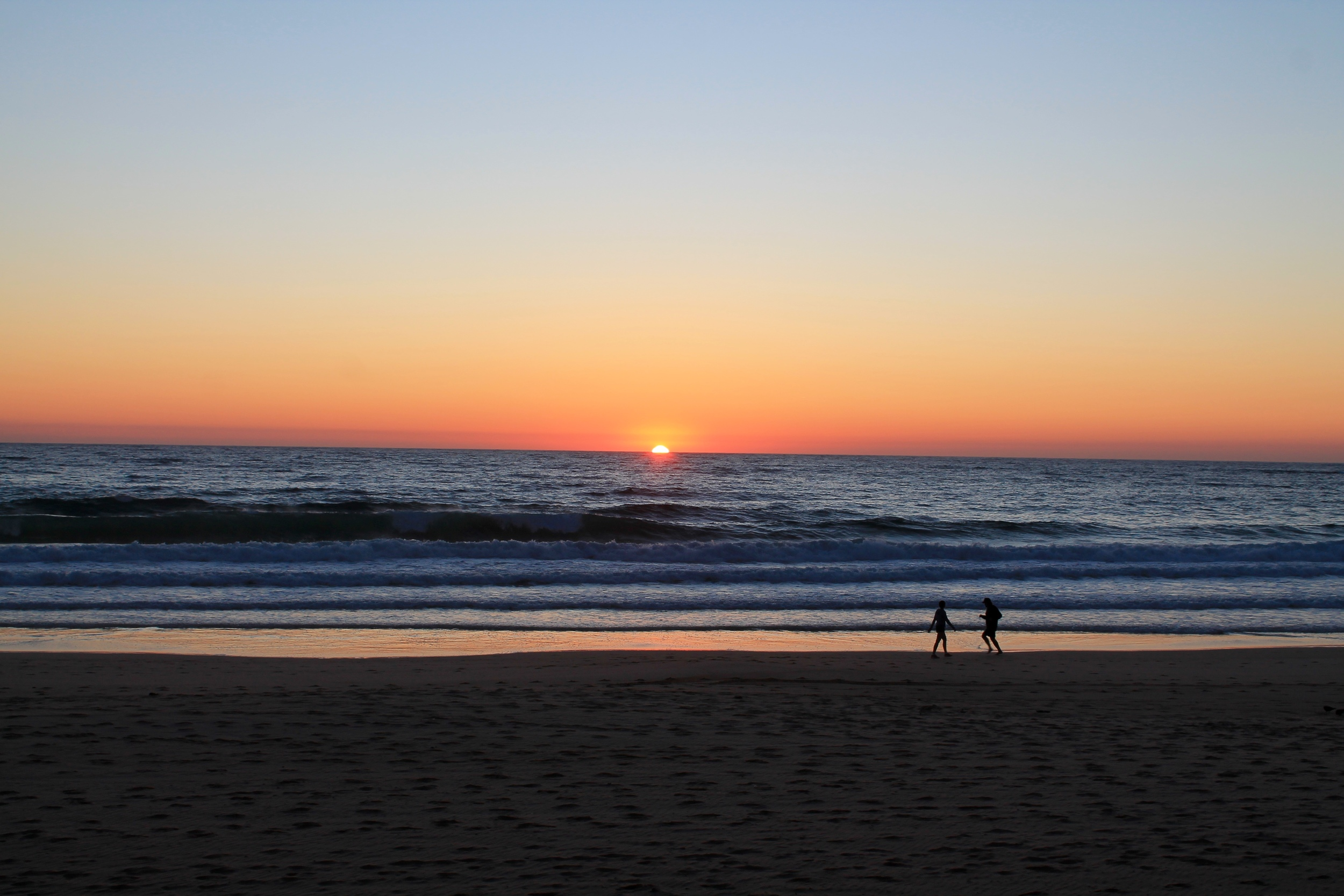 5:30am Manly Beach Sunrise.