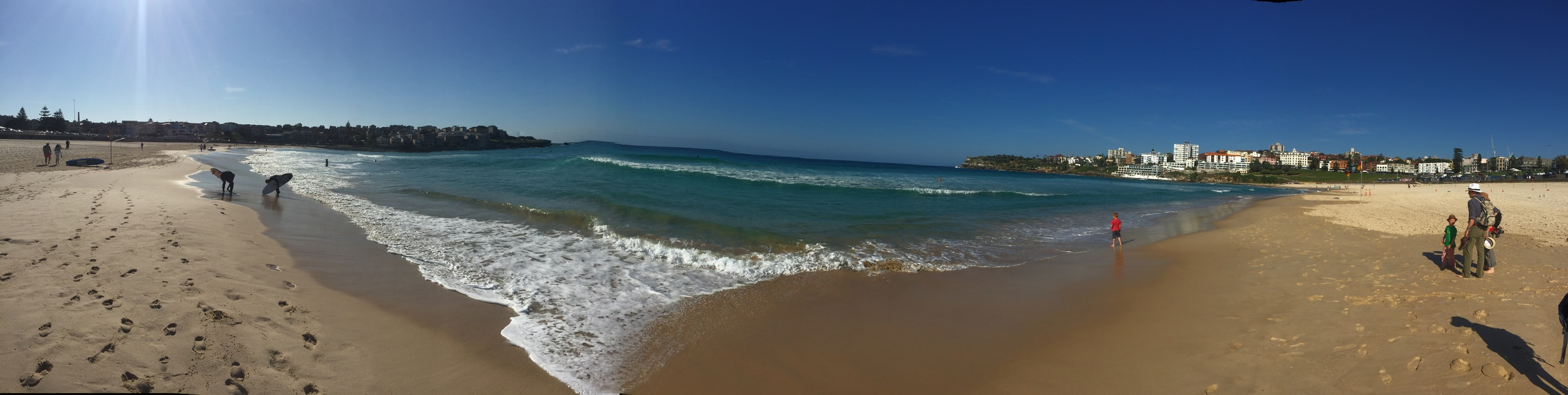 Manly Beach pano.