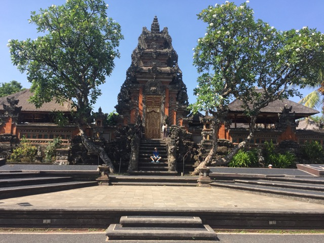 A temple in Ubud.