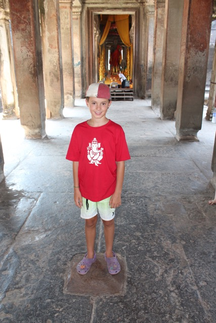 This is the centre point of Angkor Wat