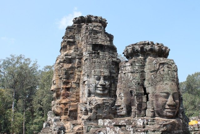 Many faces of the smiling Buddha